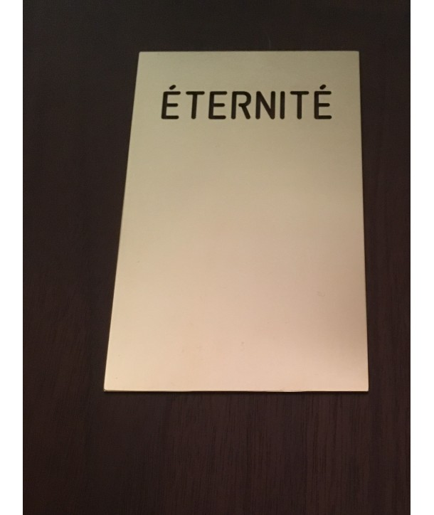 Plaque Eternité