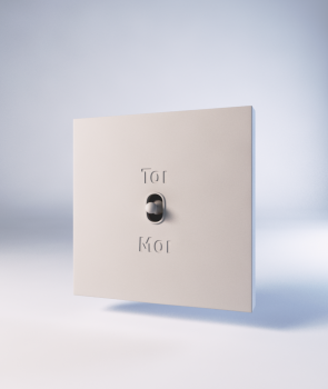 "Existentialist Switch ""Toi ou Moi"" (""You or Me"")"